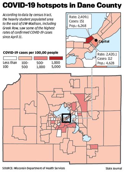 COVID-19 hotspots