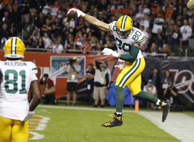 Jimmy Graham - Packers vs. Bears