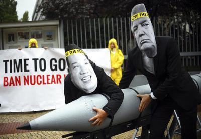 The Latest: EU envoy lauds fight against nuclear weapons (copy)
