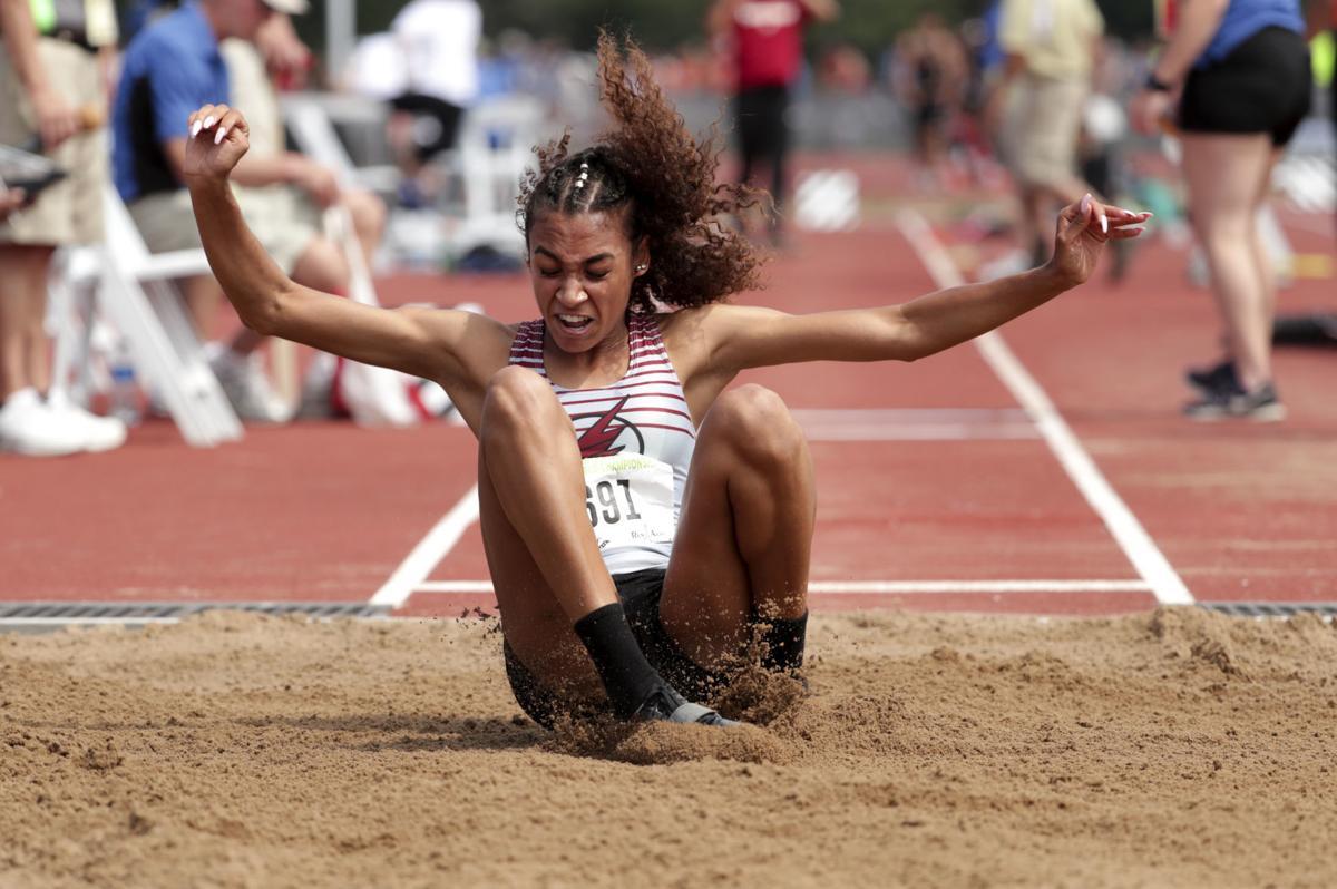 WIAA state track photo: Madison La Follette's Kiara Lee