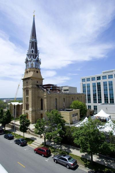 All That Remains Of St Raphaels >> Madison In 100 Objects St Raphael Steeple Madison In 100 Objects