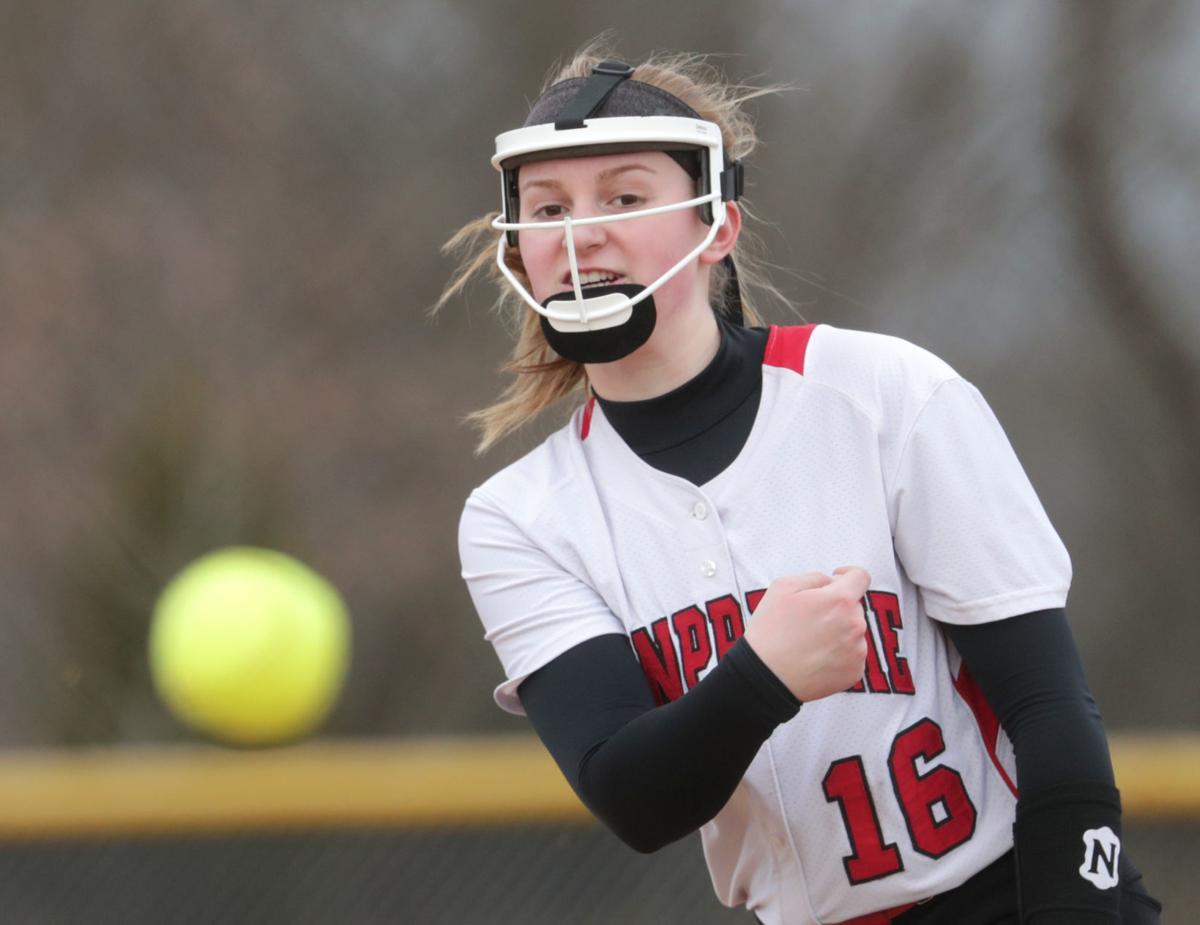 Sun Prairie junior pitcher Maddie Gardner