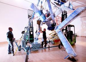 Rising above convention with Joel Shapiro's bronzes