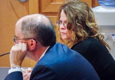 Meichelle Goss in court