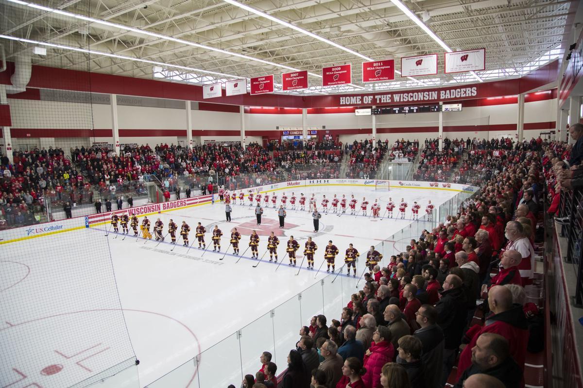 LaBahn Arena, Badgers women's hockey, generic file photo