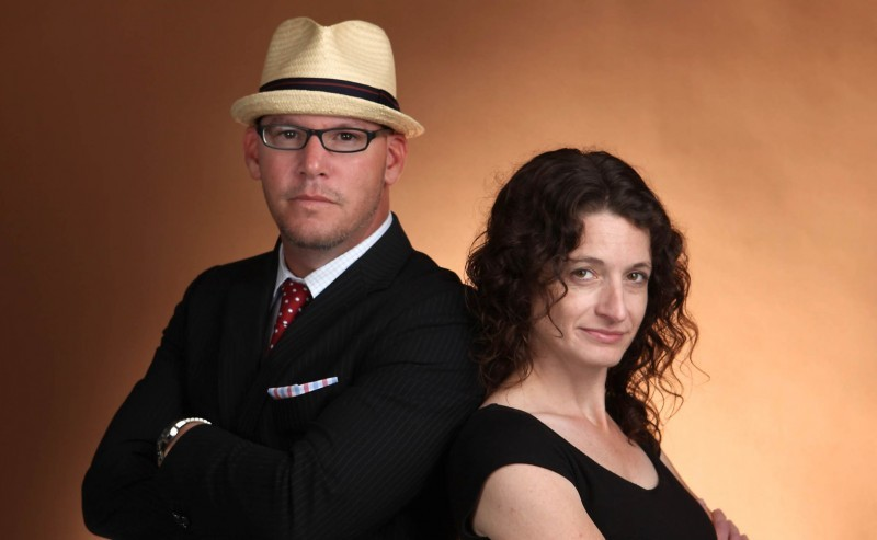 On the Capitol promo photo - Clay Barbour, Mary Spicuzza