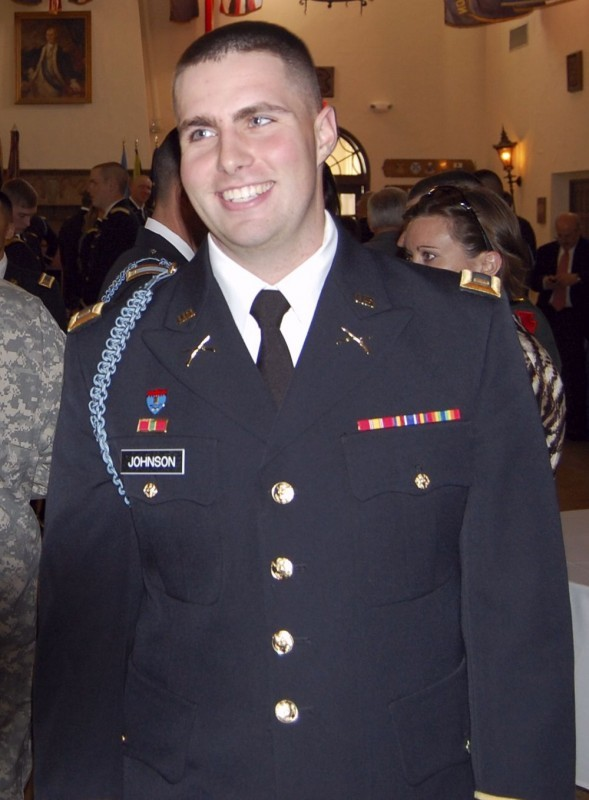 First Lieutenant David Johnson 2