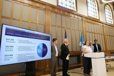 Mayor Satya Rhodes-Conway press conference