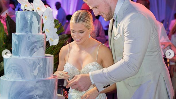 Wisconsin icon JJ Watt weds in the Bahamas