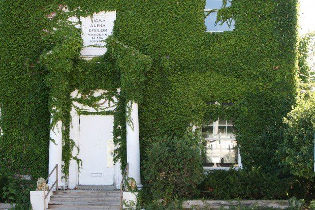 Ivy-covered Langdon area house
