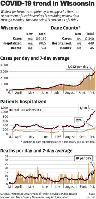 COVID-19 cases and deaths