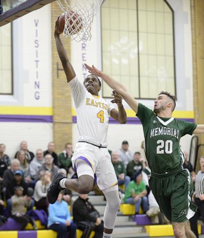 Prep boys basketball: Madison East's Anthony Washington and Madison Memorial's Nick Caropreso