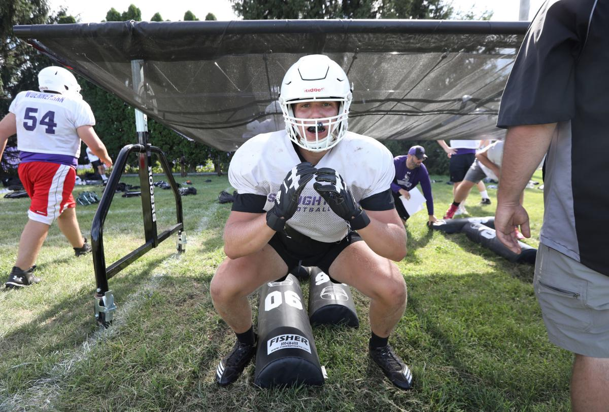 Prep football photo: Jack Nelson of Stoughton
