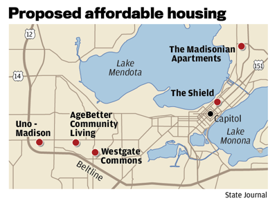 Proposed affordable housing
