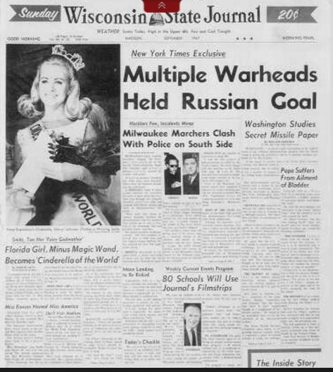 State Journal, Page 1, 9-10-1967