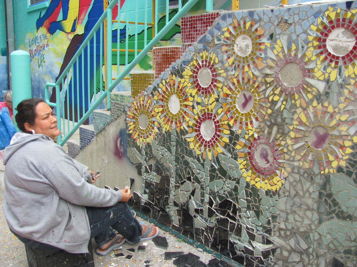 Around Town Mural Helps Family Members Find Beauty Through Pain