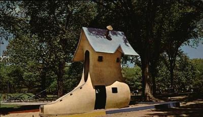 Vilas Park Shoe Slide Has New Coat Of >> Catching Up The Vilas Park Shoe Slide Story Gets A Fairy Tale