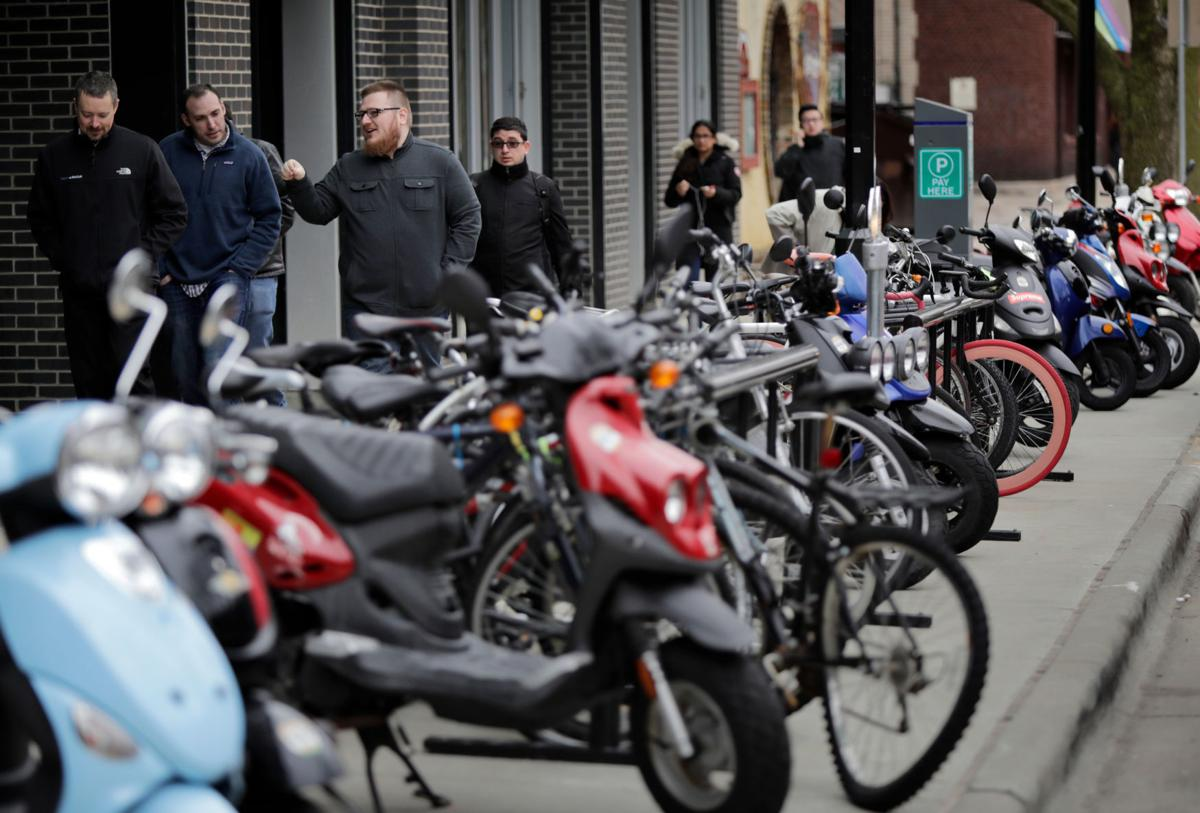 Bicycles and mopeds
