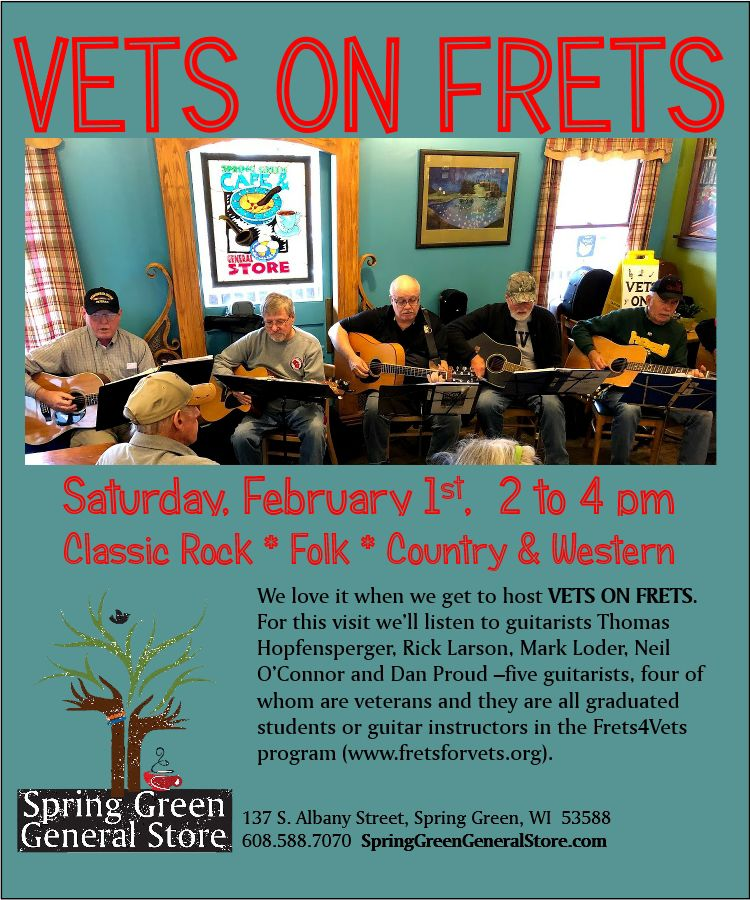 Vets on Frets return to the General Store