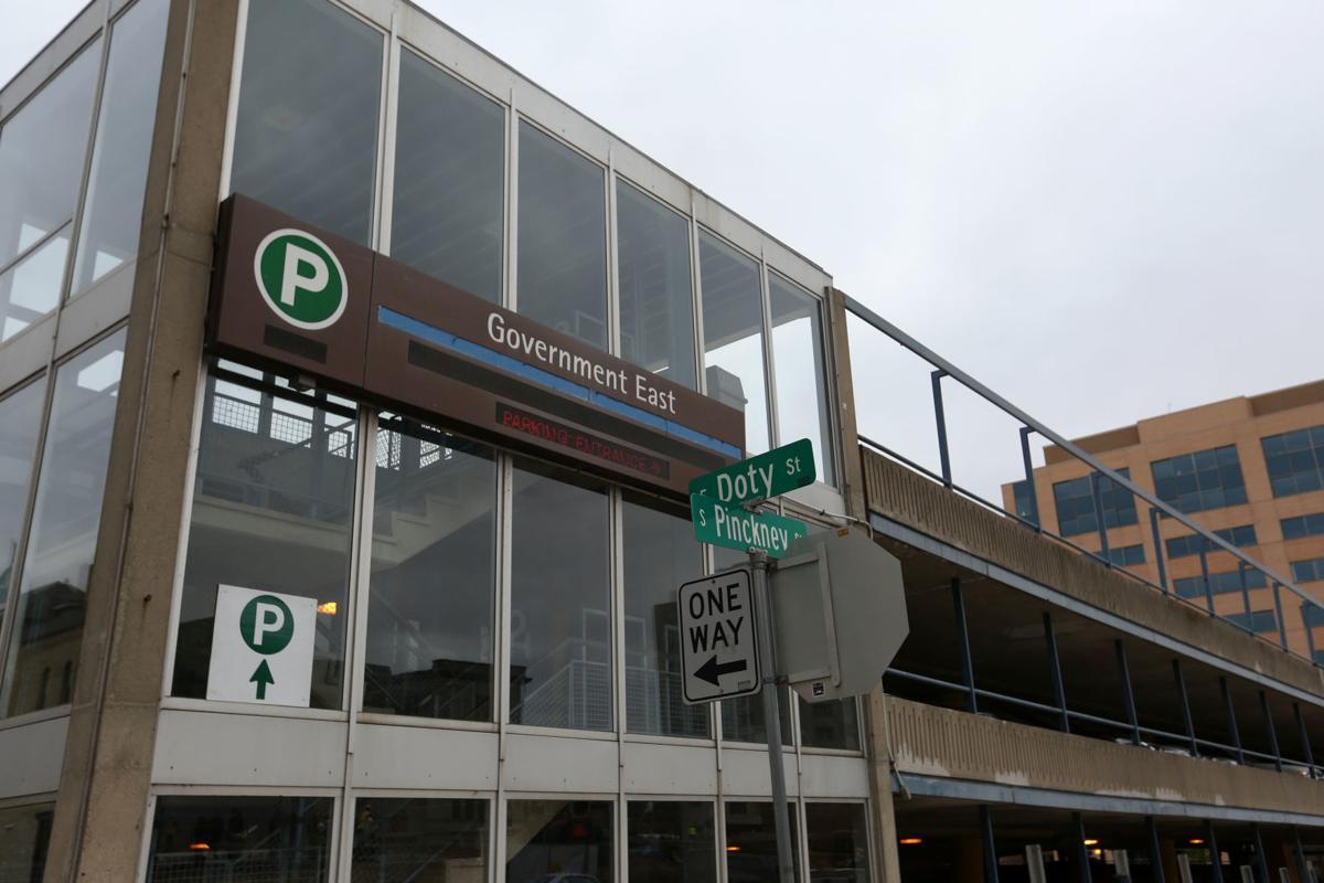 Government East parking garage