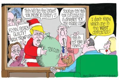 Tax, Flynn cartoon