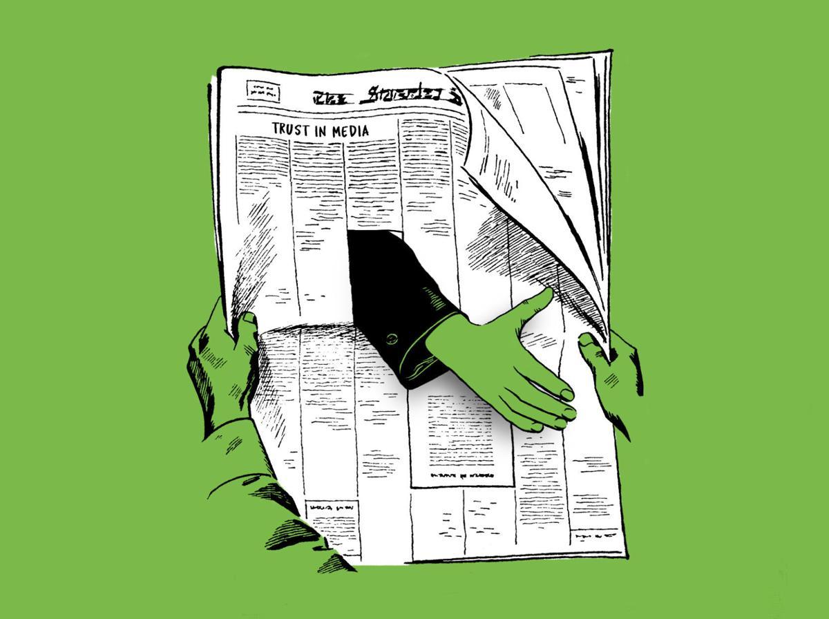 Trust in Media illustration