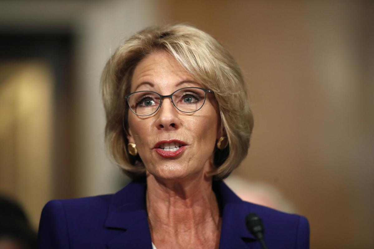 Trump Education Secretary
