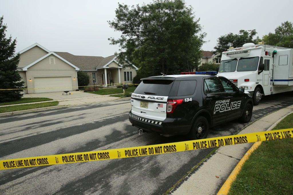 Fitchburg double homicide scene