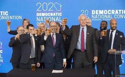 Election 2020 Democratic Convention Milwaukee (copy)
