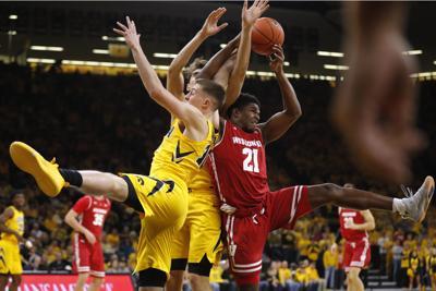 Wisconsin Iowa Basketball