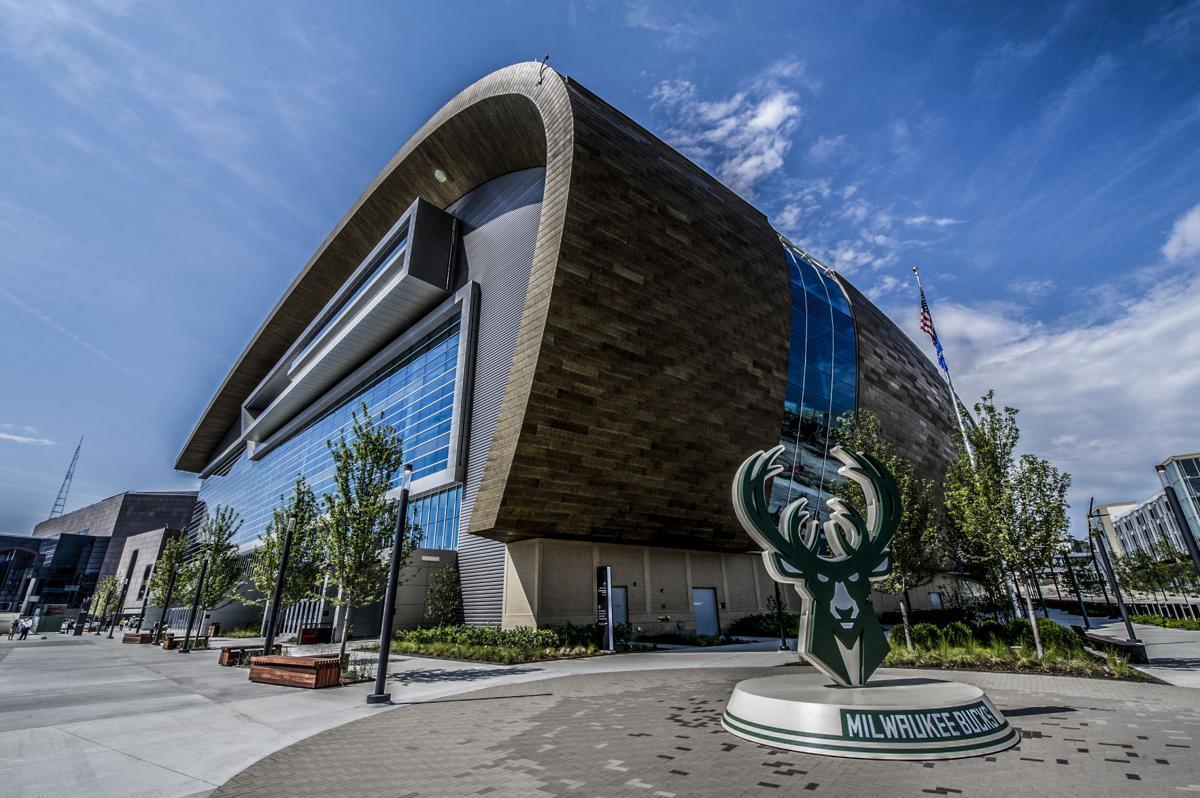 Fiserv Forum exterior