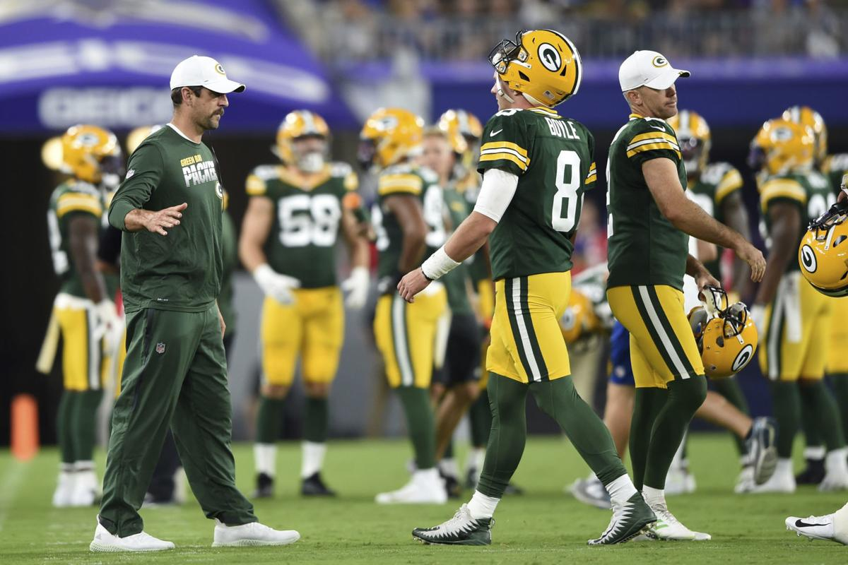 Aaron Rodgers, Tim Boyle - Packers vs. Ravens preseason