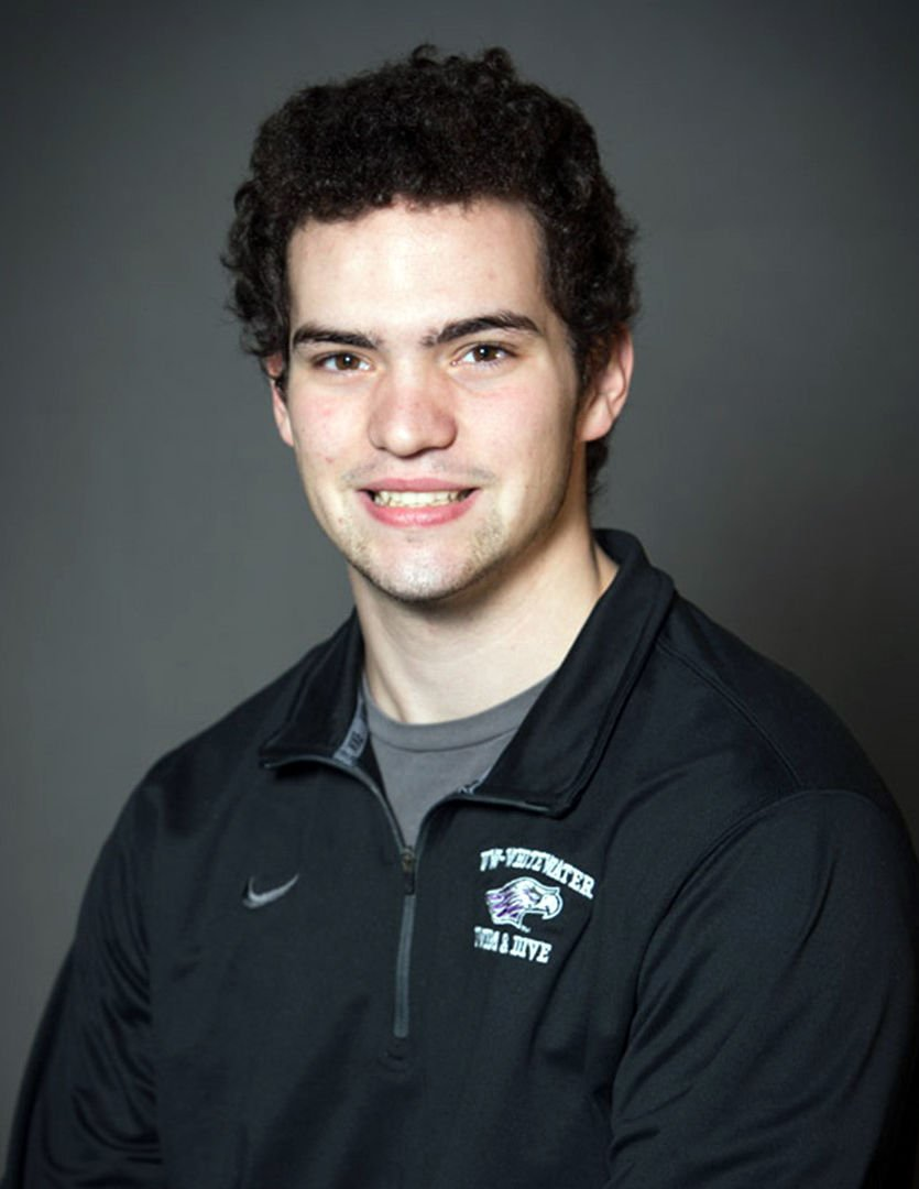 Spencer Twining, UW-Whitewater men's swimming, Janesville Parker product