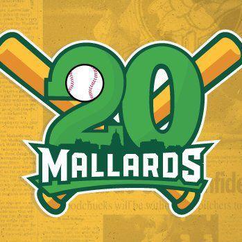 Mallards 20th season logo
