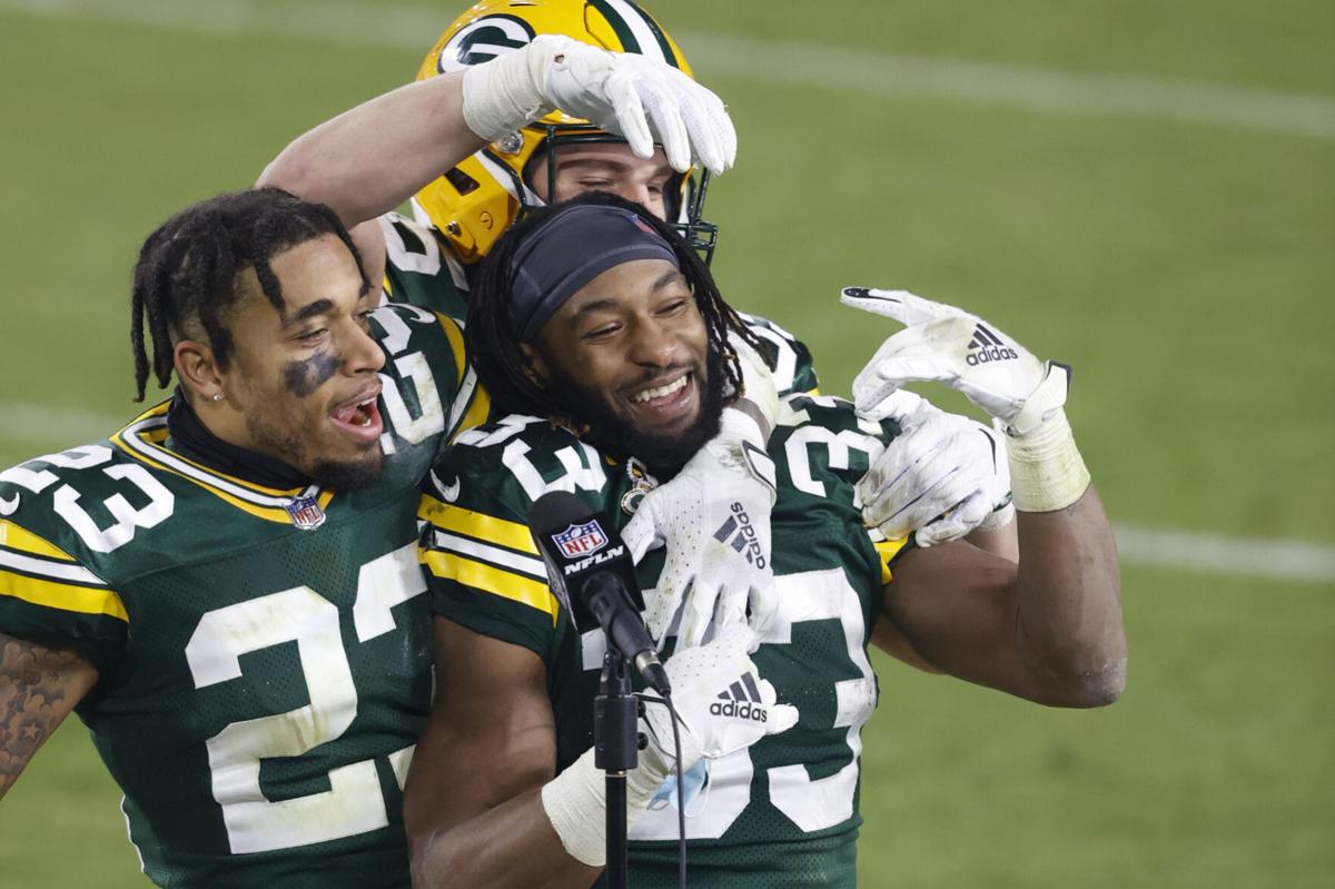A December To Remember It Usually Is For Packers Running Back Aaron Jones Late In The Nfl Season Pro Football Madison Com