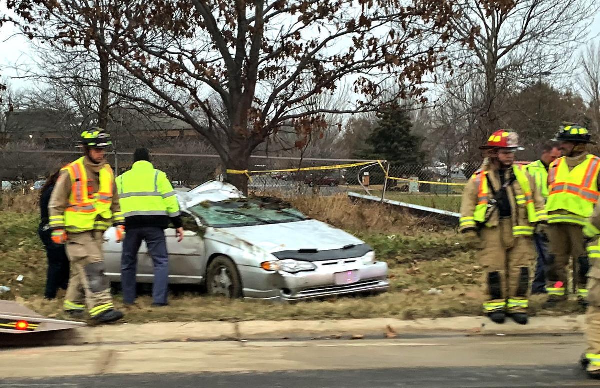 Fatal car crash on Beltline