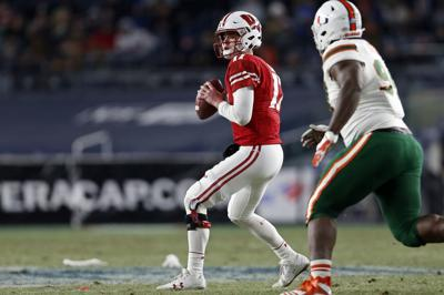 open quarterback competition a possibility for badgers heading into