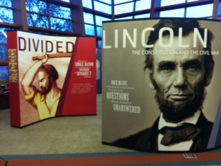 Lincoln traveling exhibit
