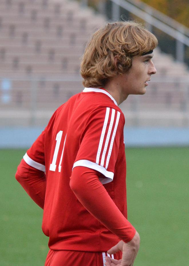 Prep boys soccer photo: Sun Prairie's Kyle Hagerman