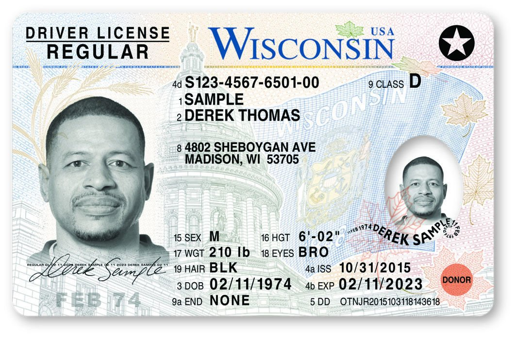 New Id License Secure News Wisconsin Cards com 'most Local In Madison North Driver America'