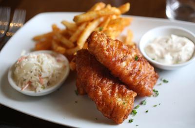 Stamm House fish fry