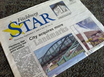 Fitchburg Star newspaper