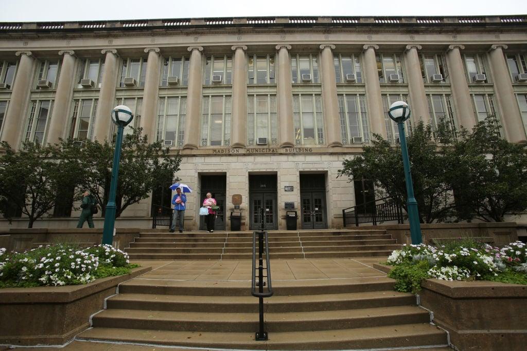 Madison Municipal Building exterior