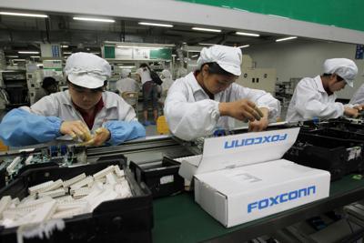 Foxconn Plant