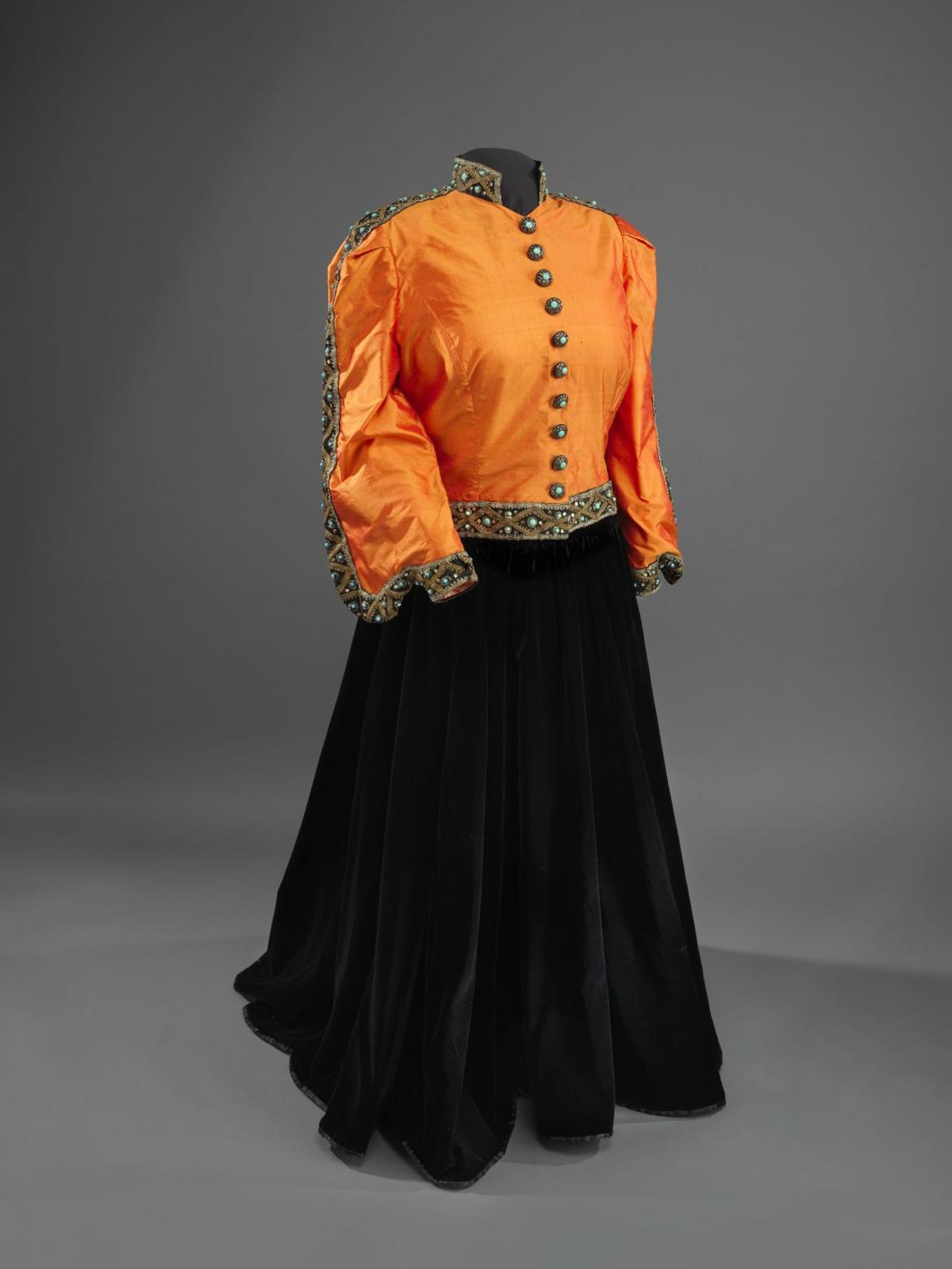 Marian Anderson jacket and skirt