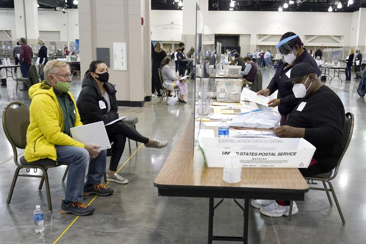 Milwaukee County presidential election 2020 recount, AP generic file photo
