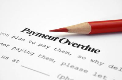 Payment overdue iStock photo illustration delinquent loan past due mortgage