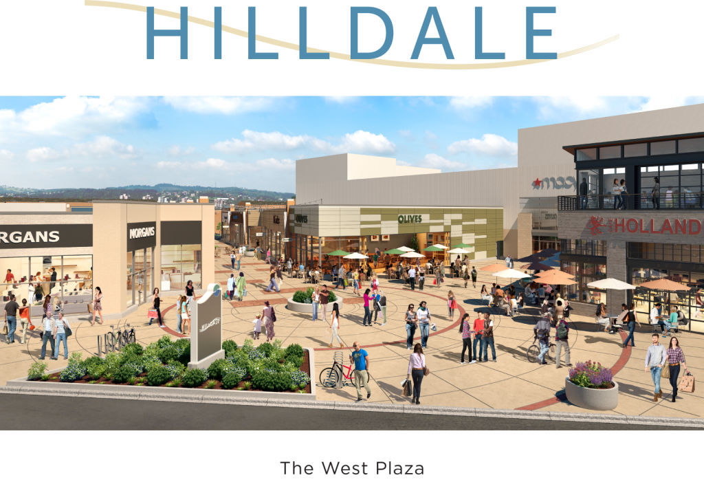Hilldale Shopping Center redevelopment