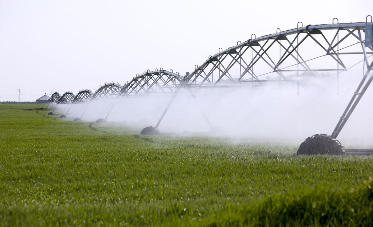 Irrigation from high-capacity wells