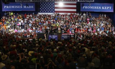 Trump rally in Montana